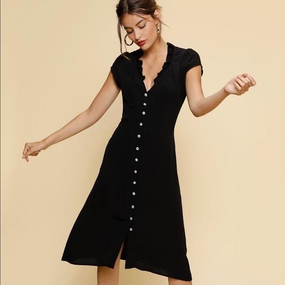 e0d42d38b5b7 Rouje Lena Dress - Black. M_5b5417011e2d2db0b4888297